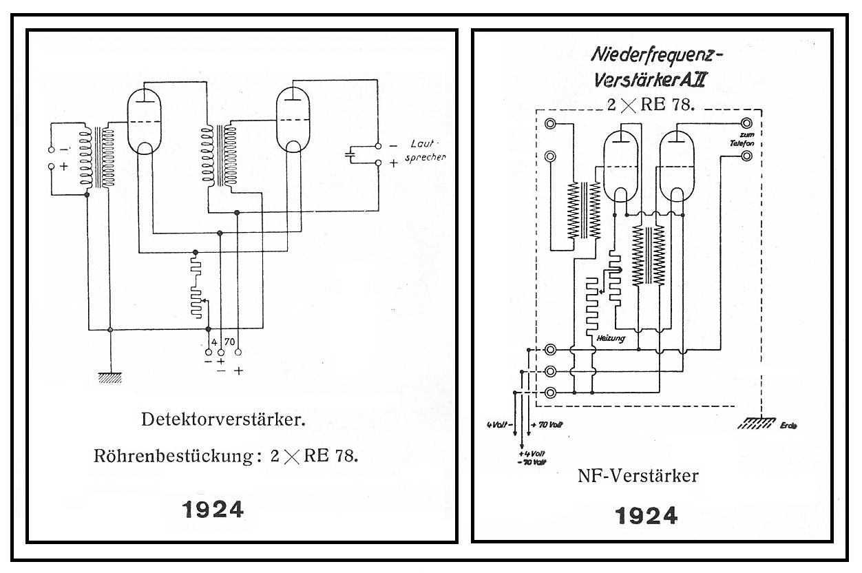 100 Amplifiers Part 1 1916 45 Lilienthal Engineering New Electronic Fractional Frequency Power Amplifier Circuit Diagram Aeg 1924 Rettet