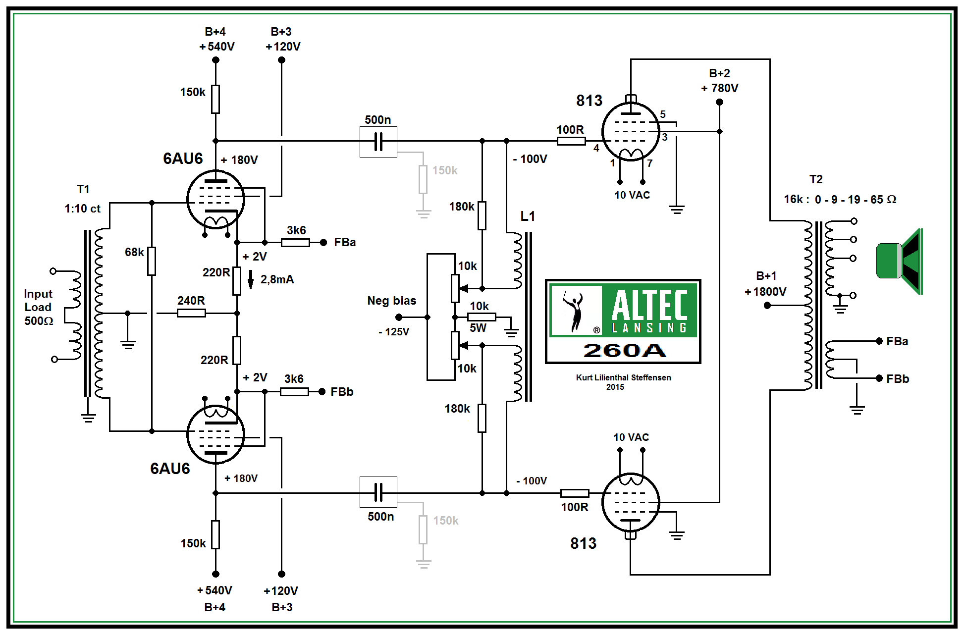 altec-lansing-260a-813-pp-power-amp-schematic-ed-vers-2