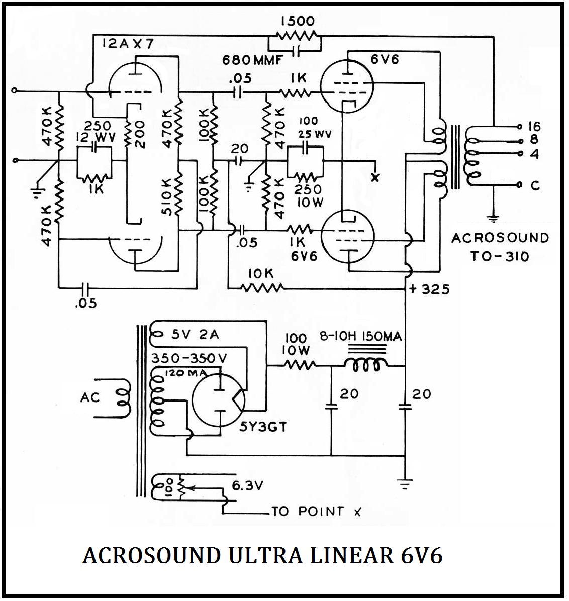 Acrosound , 6V6PP
