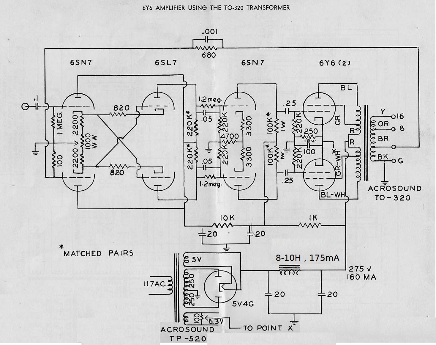 Acrosound , CCPS 6Y6G