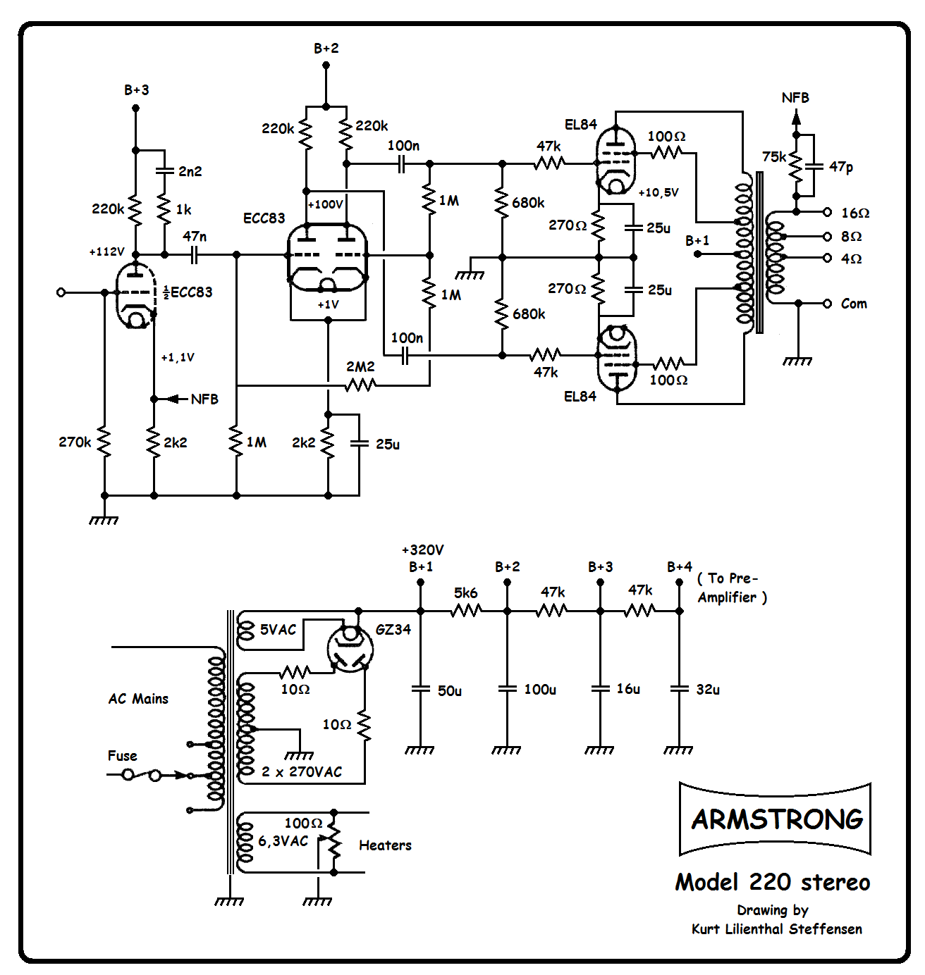Diy A By Pedal Schematic moreover Viewtopic as well Viewtopic in addition 12AT7 as well 5ar4 Pinout Wiring Diagrams. on 12ax7 pinout diagram
