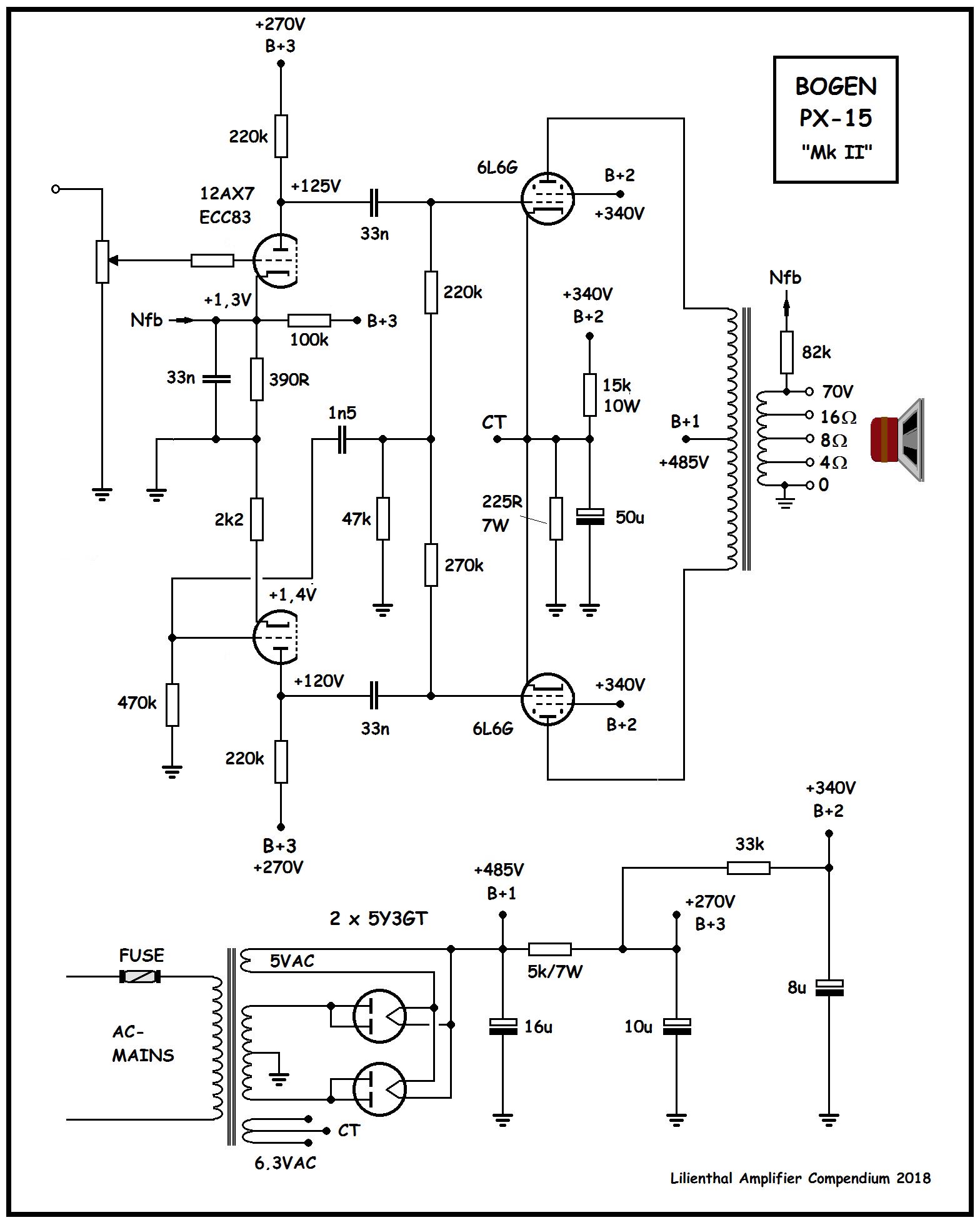 Bogen PX-15 Mk II , ny tegning 2