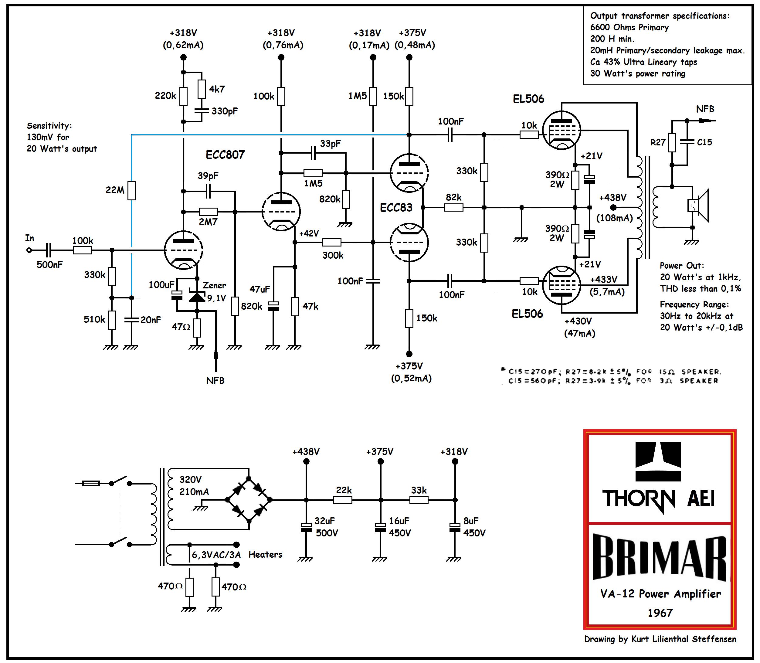 Brimar Thorn VA-12 , EL506 PP, ed 2