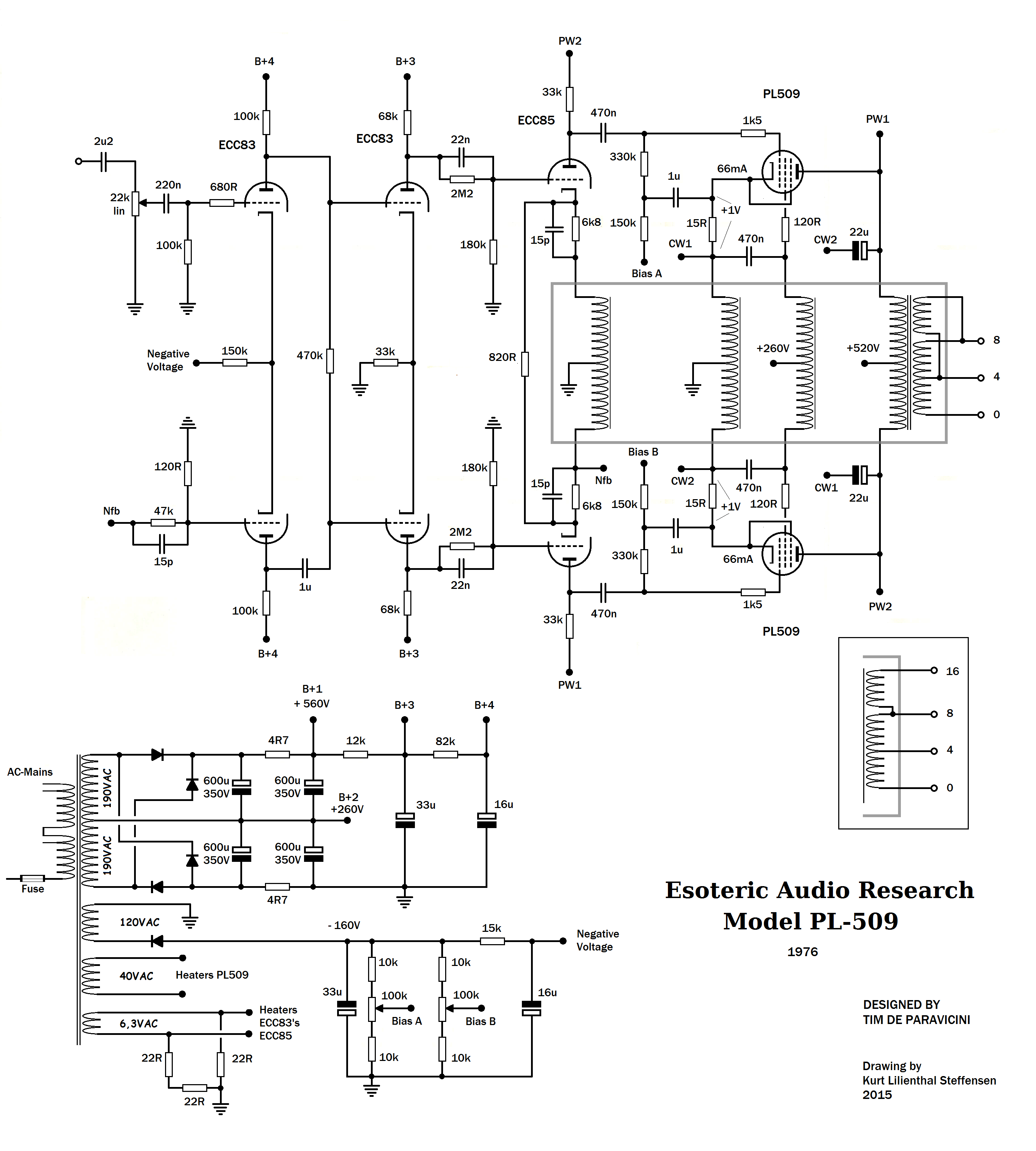 100 Amplifiers Part 4 1959 82 Lilienthal Engineering Beam Circuits Quad Opamp Walker Ear Pl509 Ed The Circuit Of Amplifier