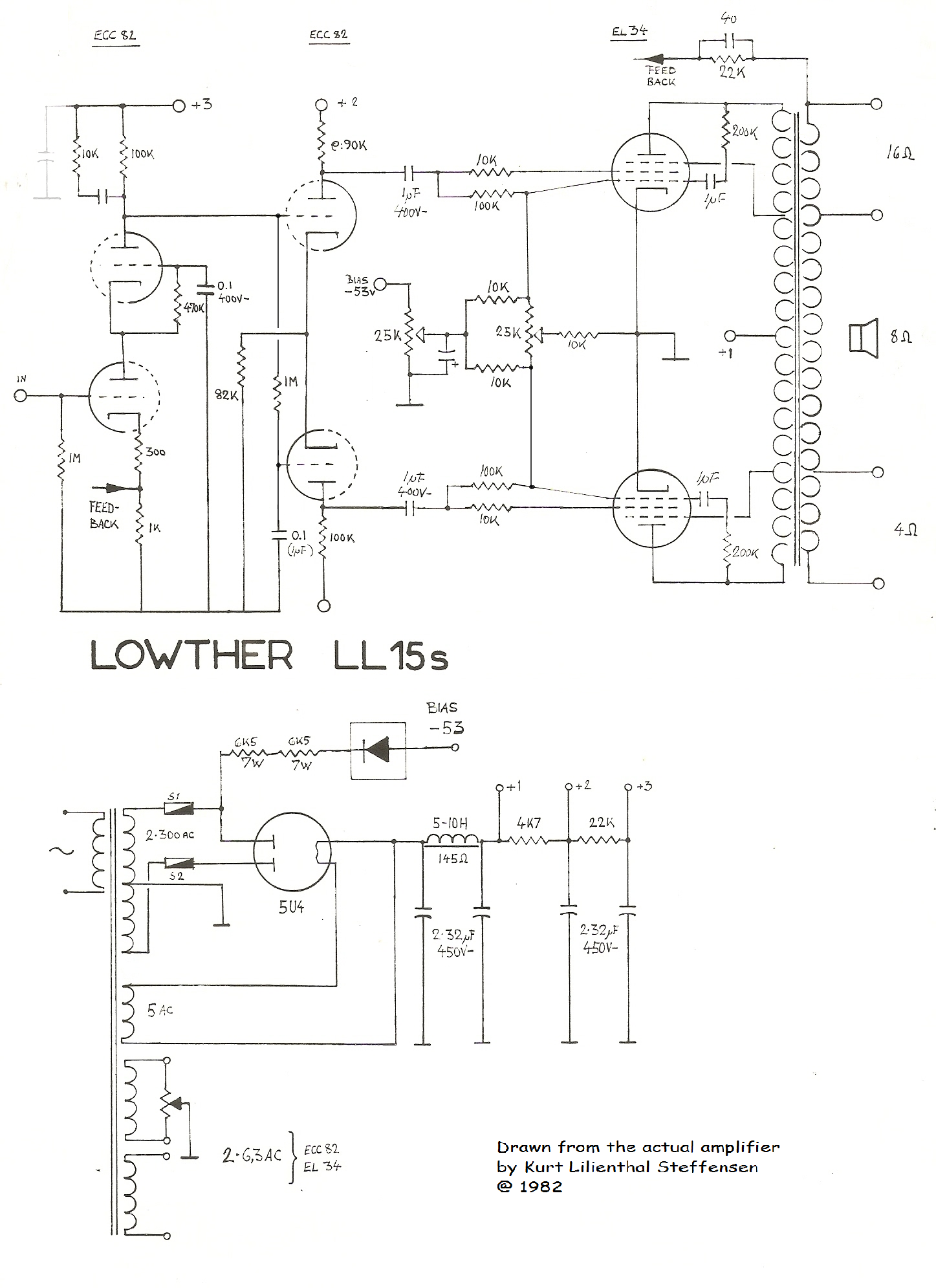 Lowther LL15s, EL34PP
