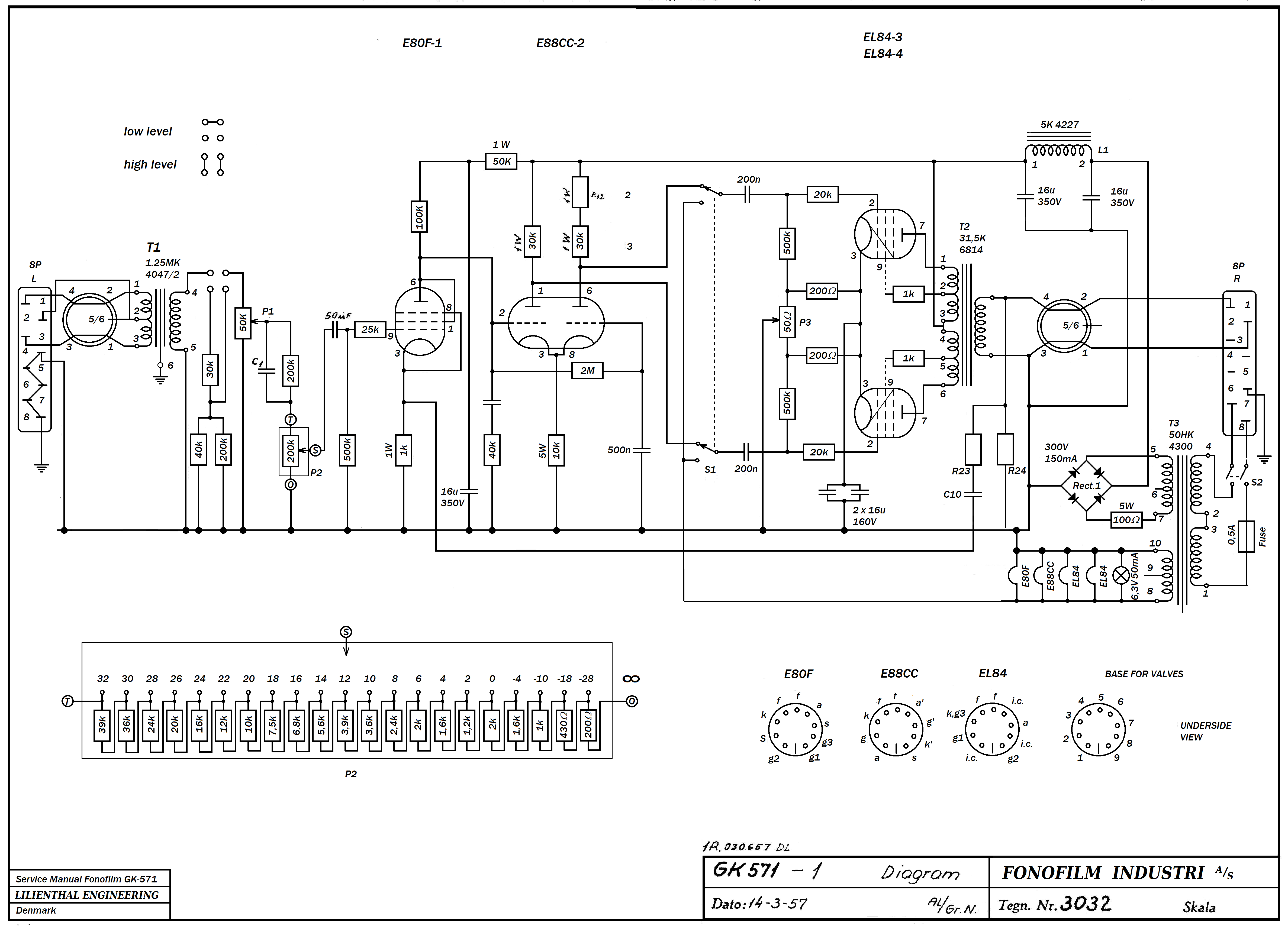amplifier stereo schematic el84 ppp