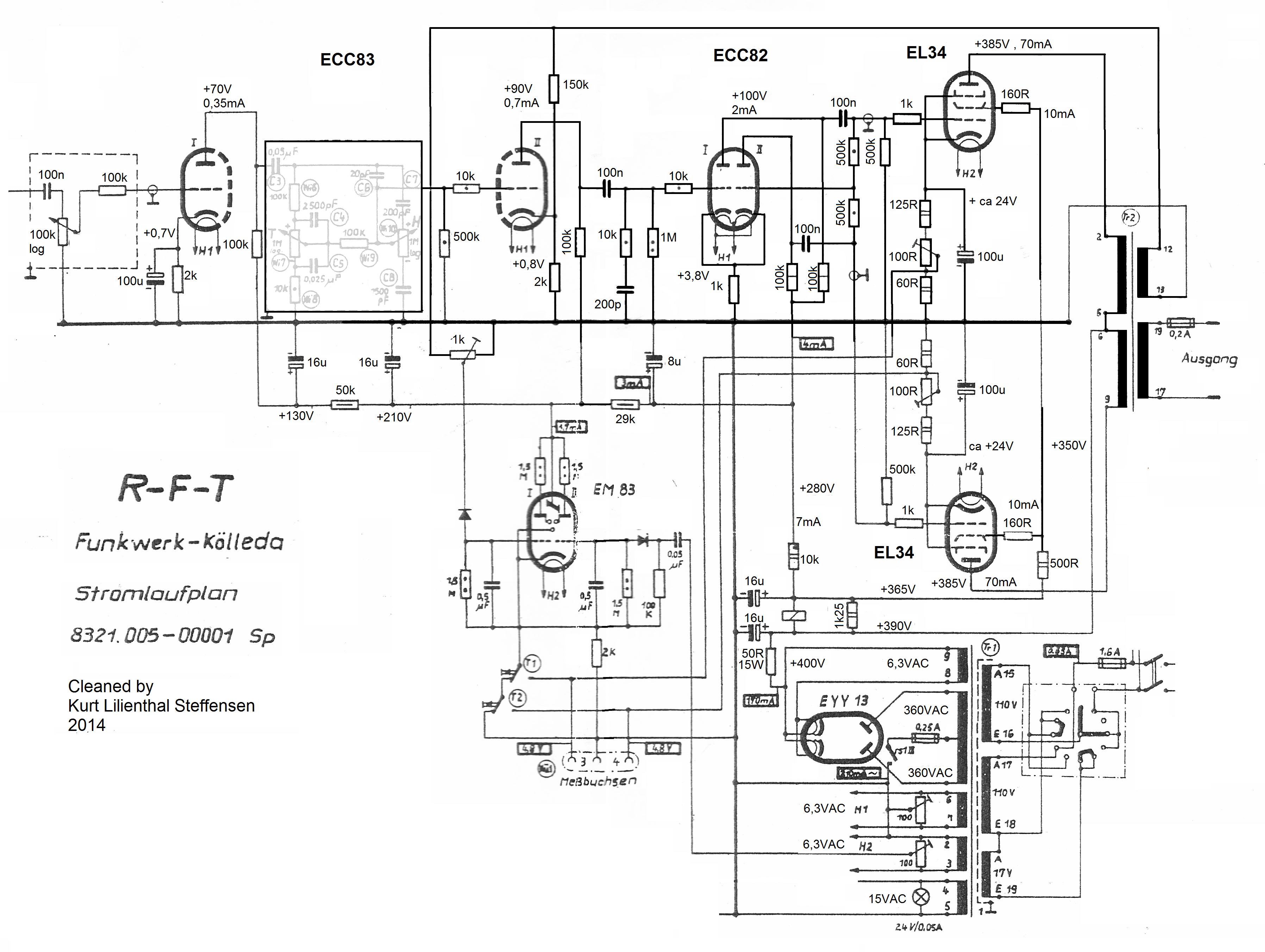 RFT 8321-5, EL34PP, ed