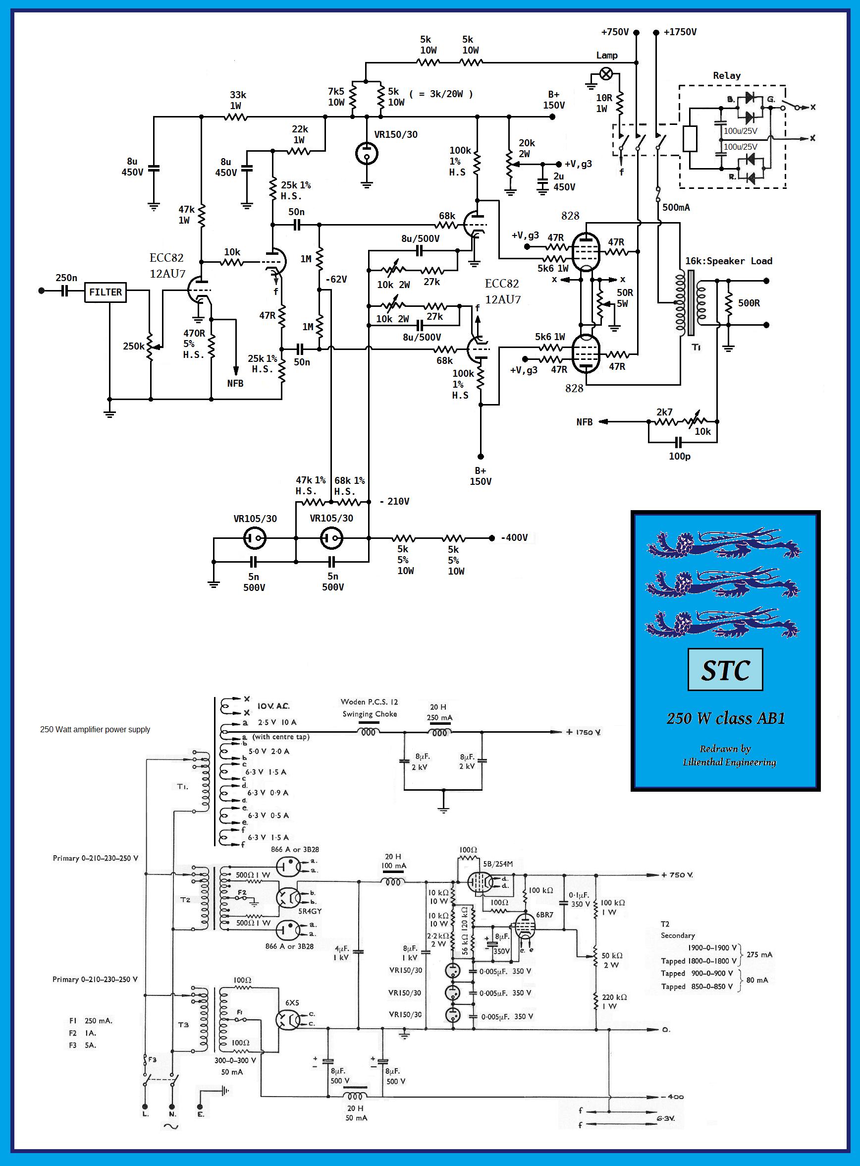 STC 250 W AB , 828 PP , ed vers 2