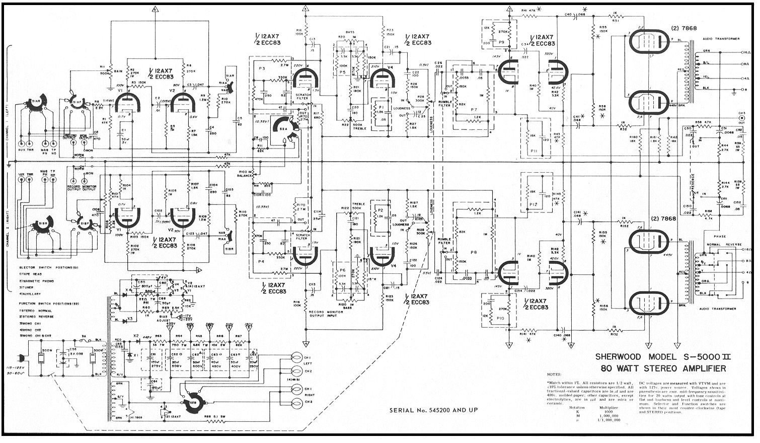 Sheerwood S-5000II, 7868PP