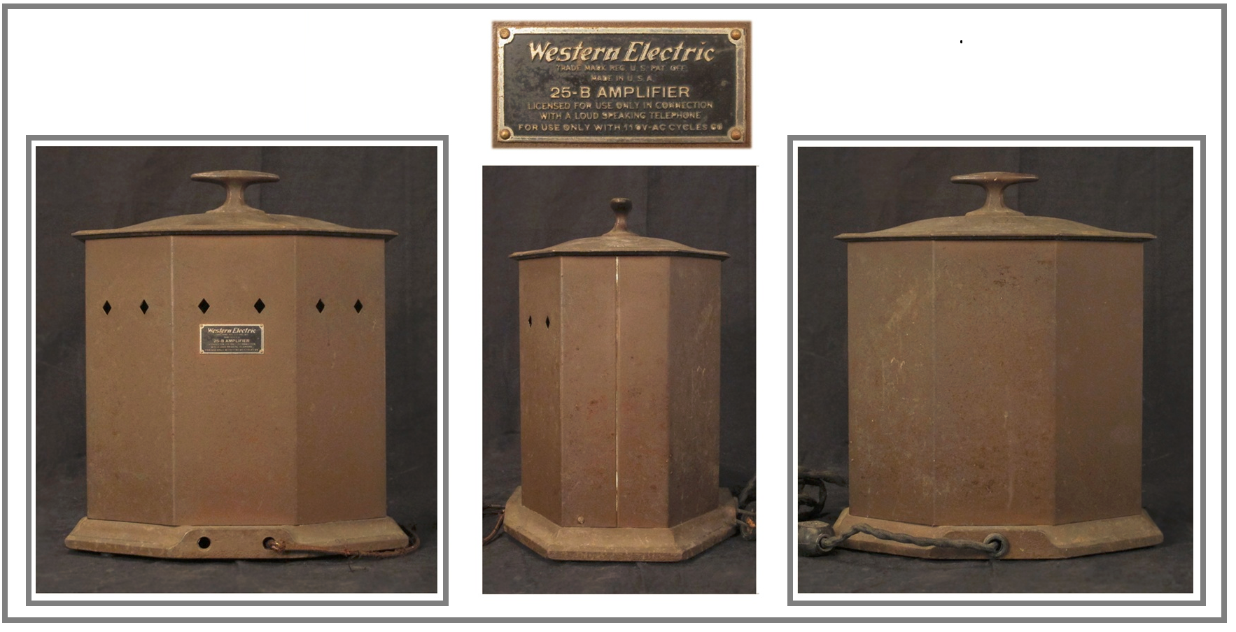 Western Electric 25B, pix 1