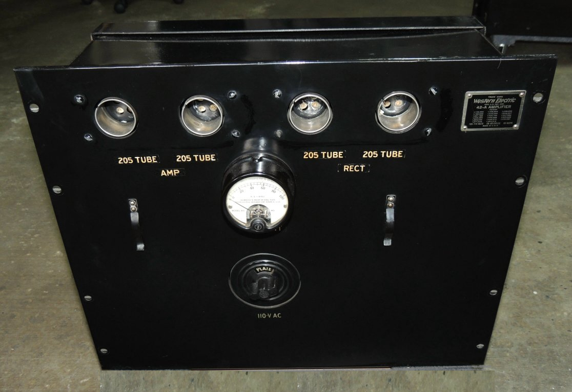Western Electric 42A, pix