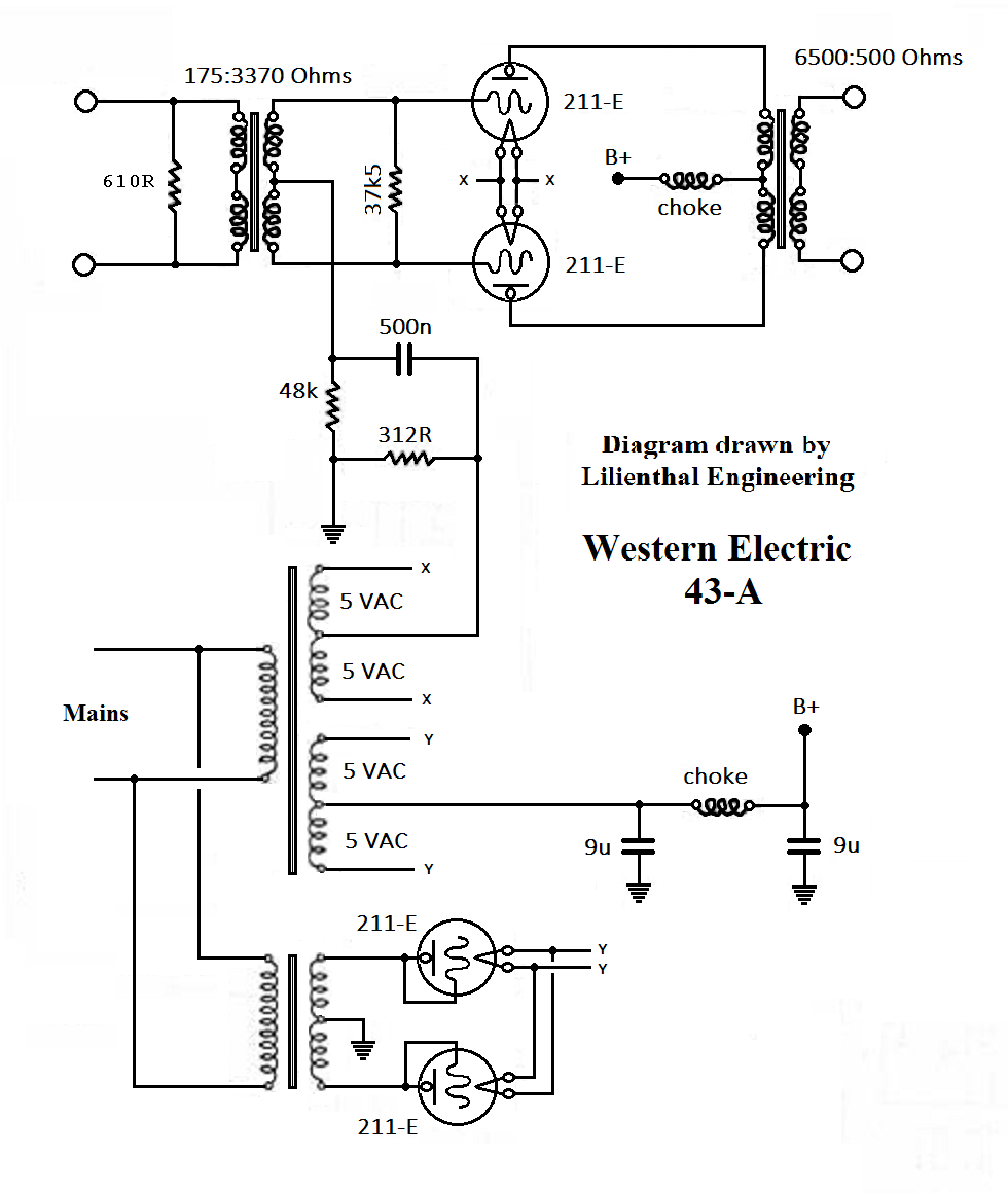 Western Electric 43A, ed