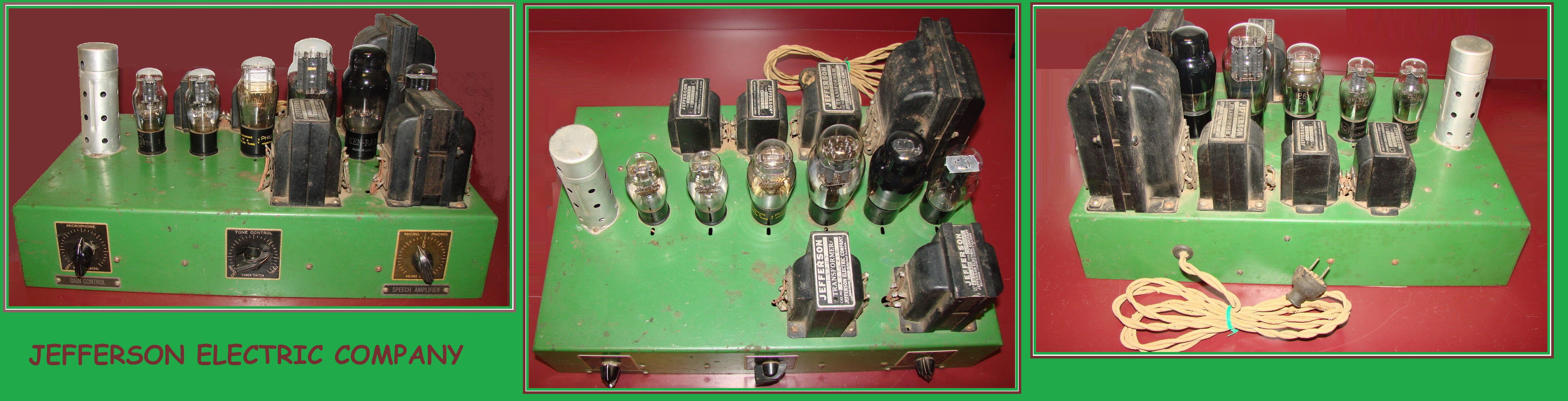 100 Amplifiers Part 1 1916 45 Lilienthal Engineering Fig 6 Equivalent Circuit Of The Resistancecoupled Amplifier In Pix Jefferson 2a3 Amp Ed Compendium